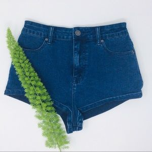 UO BDG Gorgeous High Rise Denim Short Size  (27)